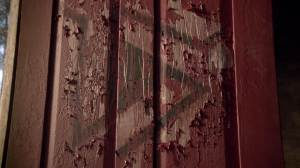 Mostly I'm upset that I didn't get to see Derek paint this door. SHIRTLESS.