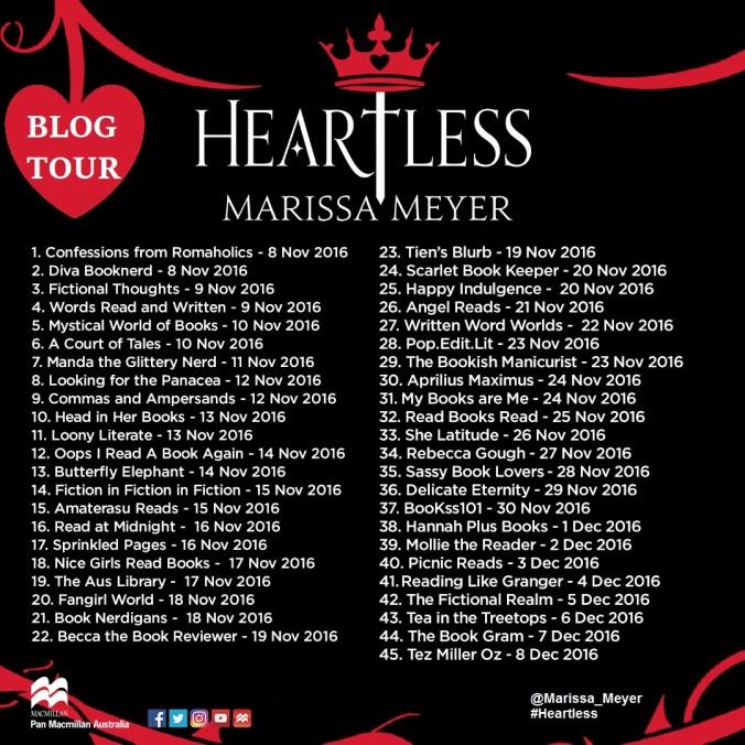 Heartless Blog Tour